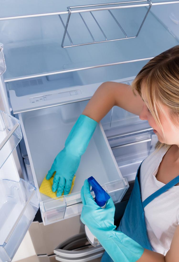 Kühlschrankreinigung