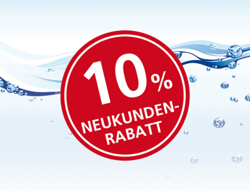 10% Rabatt-Neukundenaktion