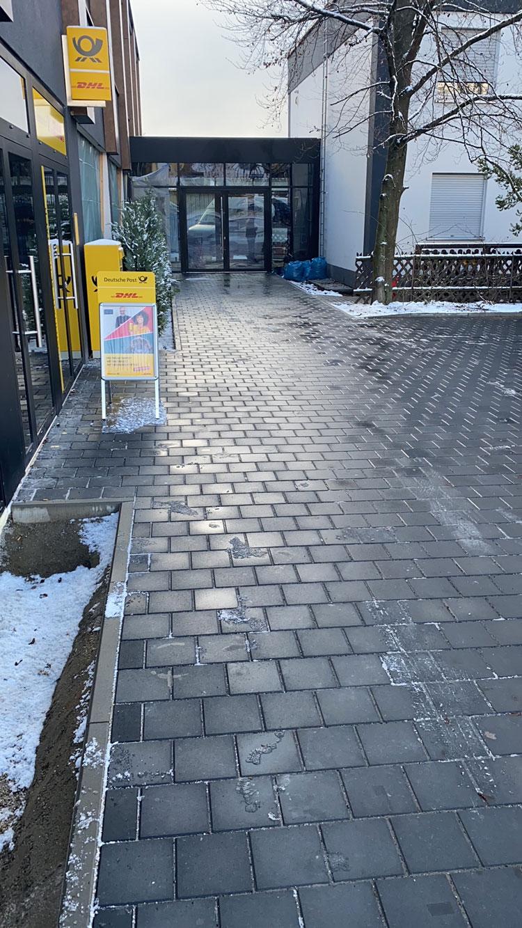 Winterdienst Deutsche Post